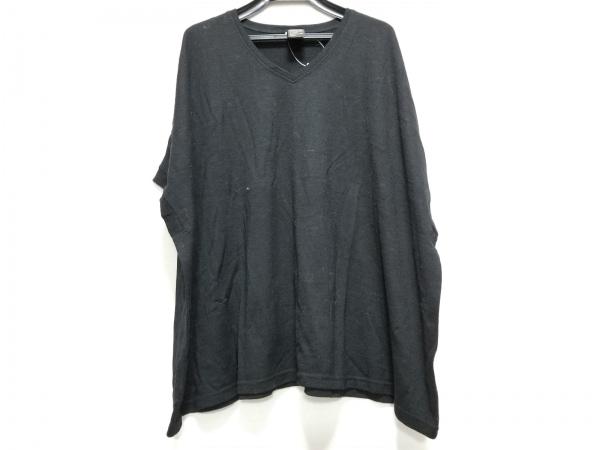 【中古】 ダブルスタンダードクロージング DOUBLE STANDARD CLOTHING 半袖セーター レディース 黒