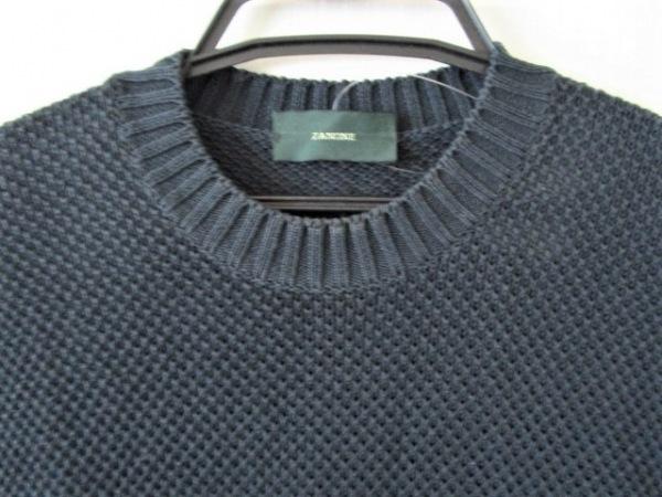 ZANONE(ザノーネ) ノースリーブセーター サイズ48 XL メンズ ダークネイビー
