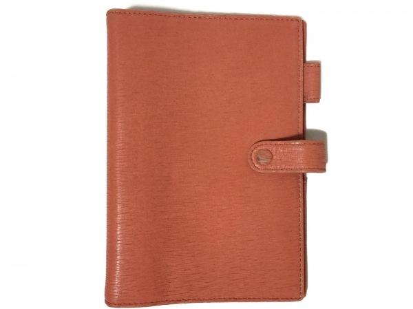アシュフォード 手帳美品  ピンク レザー