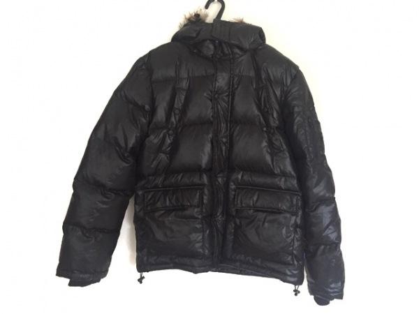 Penfield(ペンフィールド) ダウンジャケット サイズL メンズ 黒×ライトブラウン 冬物