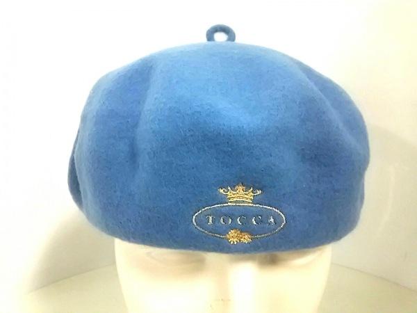 TOCCA(トッカ) 帽子 ライトブルー ウール