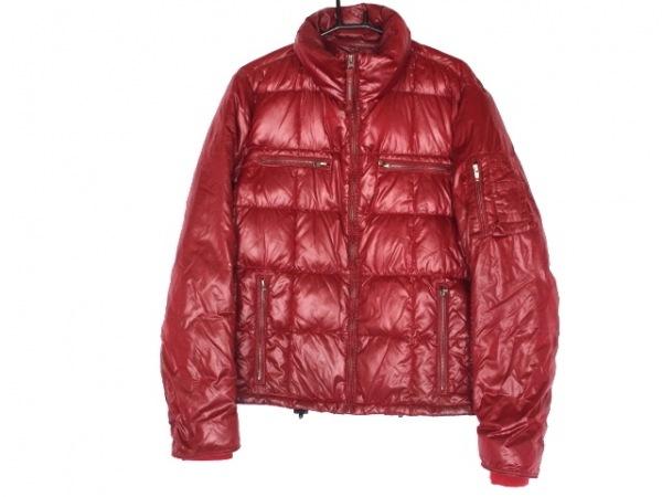 C.P.COMPANY(シーピーカンパニー) ダウンジャケット サイズ50 メンズ レッド 冬物