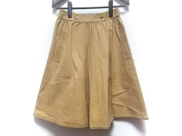 ミッソーニスポーツ 巻きスカート サイズ40 M レディース ライトブラウン