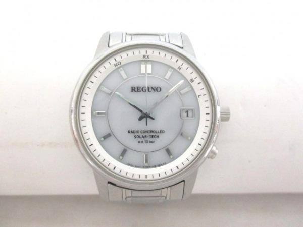 レグノ 腕時計美品  SOLAR-TECH メンズ
