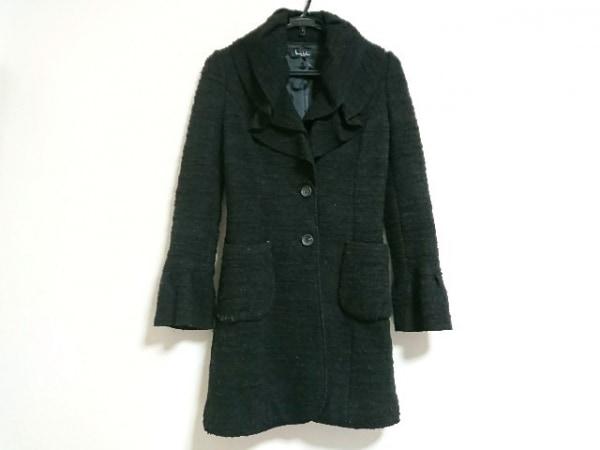 ニコルミラー コート サイズ4 XL 黒 冬物