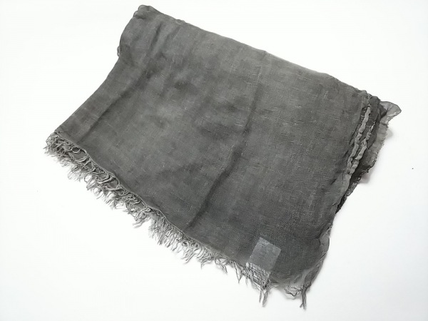 Falierosarti(ファリエロサルティ) ストール(ショール) ダークグレー ウール×シルク