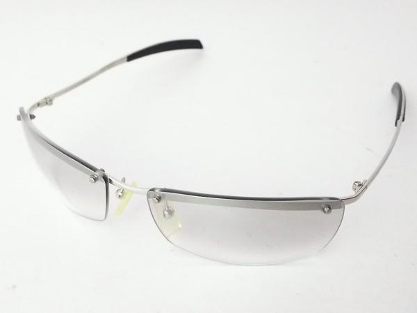 POLICE(ポリス) サングラス 2744 黒×シルバー プラスチック×金属素材