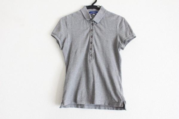 バーバリーブルーレーベル 半袖ポロシャツ