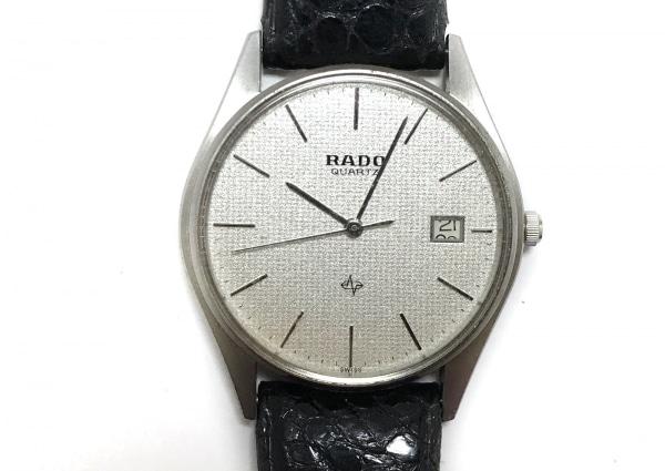 RADO(ラドー) 腕時計 113.9001.4 レディース 革ベルト/型押し加工 シルバー
