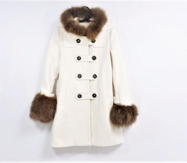 Xmiss(キスミス) コート サイズ35 レディース アイボリー 冬物