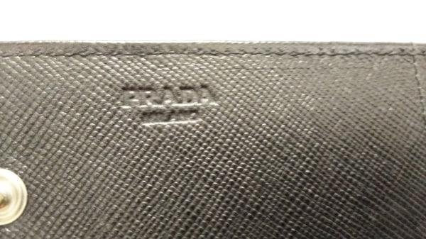 PRADA(プラダ) 長財布 - 黒 ナイロン