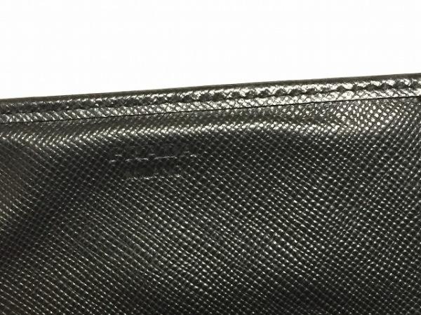 PRADA(プラダ) 長財布 - 黒 レザー