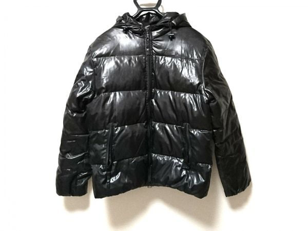 HOUSTON(ヒューストン) ダウンジャケット サイズL メンズ 黒 冬物