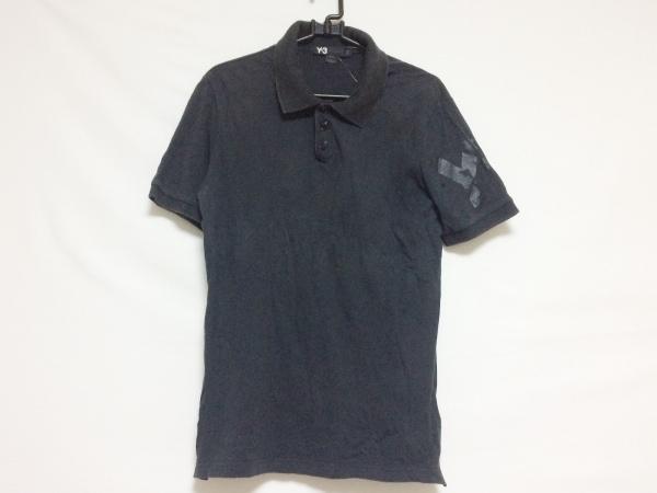 Y-3(ワイスリー) 半袖ポロシャツ サイズM メンズ 黒