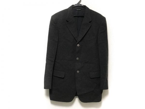 VERSUS(ヴェルサス) ジャケット サイズ36 S メンズ美品  ダークグレー