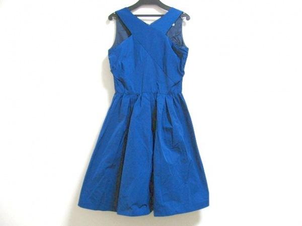 バルコニーアンドベッド ワンピース サイズF レディース美品  ブルー