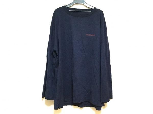 Stampd(スタンプド) 長袖Tシャツ サイズXXL XL メンズ ネイビー×レッド