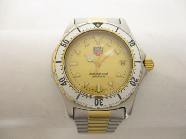 TAG Heuer(タグホイヤー) 腕時計 プロフェッショナル200 974.013-2 ボーイズ ゴールド