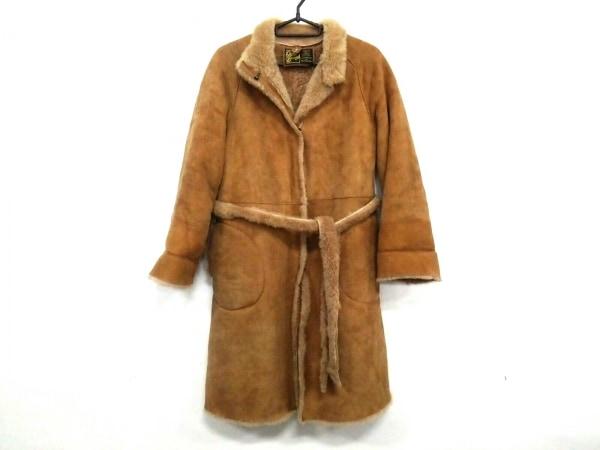 OWEN BARRY(オーウェンバリー) コート レディース ライトブラウン ムートン/冬物
