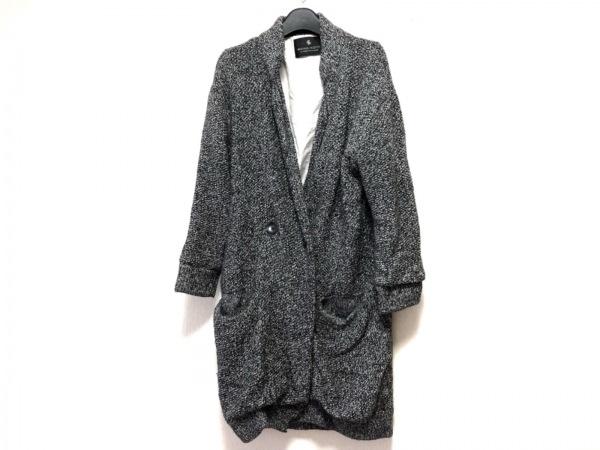 メゾンスコッチ コート サイズ1 S レディース 黒×白×グレー 春・秋物