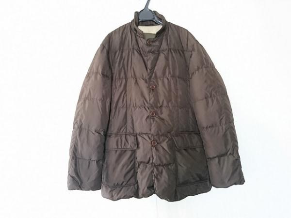 ヘンリーコットンズ ダウンコート サイズ52 メンズ ダークブラウン 冬物
