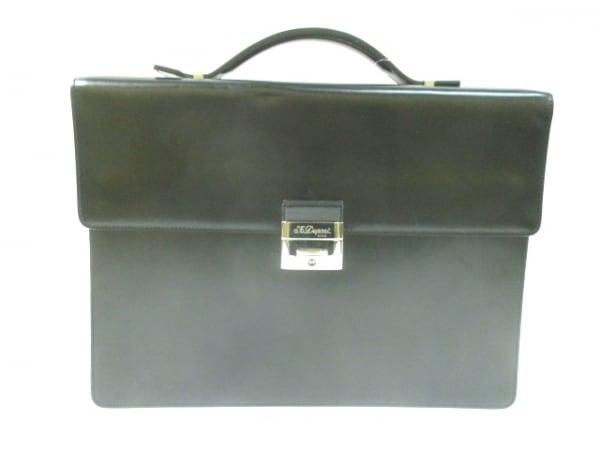 Dupont(デュポン) ビジネスバッグ 黒 レザー