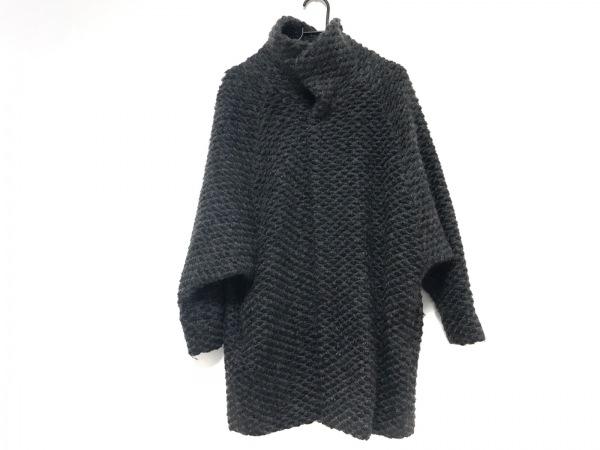 nitca(ニトカ) コート サイズF レディース美品  ダークグレー ニット/冬物