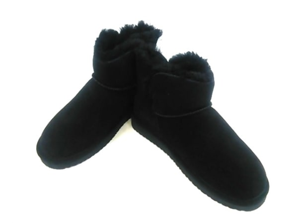 BEARPAW(ベアパウ) ブーツ レディース 黒 ムートン