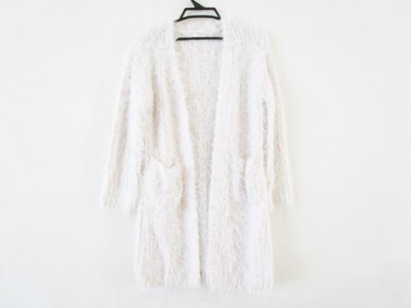 Miia(ミーア) コート サイズF レディース美品  白×マルチ