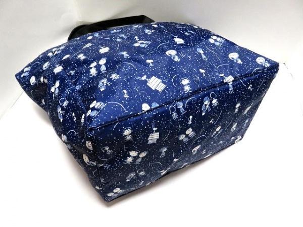 LESPORTSAC(レスポートサック) トートバッグ美品  ネイビー×白×黒 4
