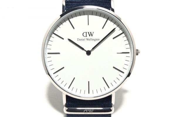 Daniel Wellington(ダニエルウェリントン) 腕時計美品  B40S22 メンズ 白