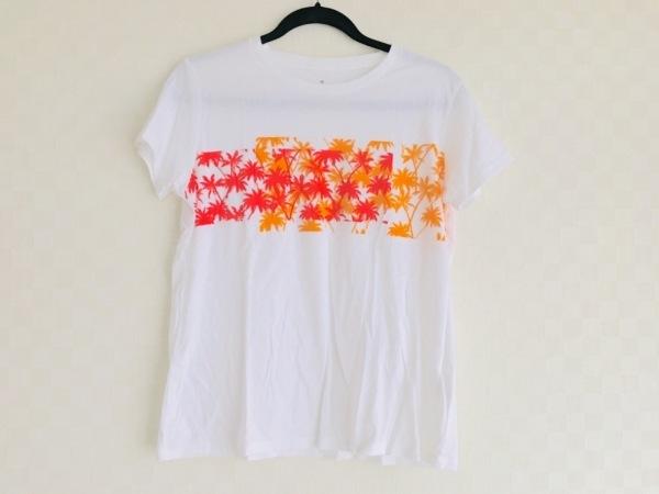 tomas maier(トーマスマイヤー) 半袖Tシャツ サイズL レディース美品  白 ×UNIQLO