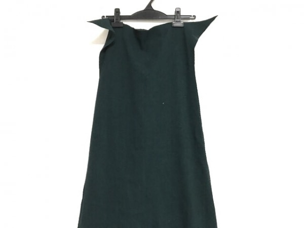 A.POC(イッセイミヤケ) ロングスカート サイズ2 M レディース美品  グリーン