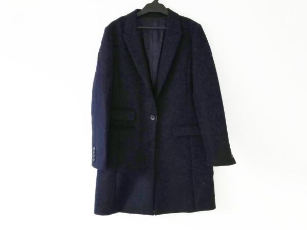 allureville(アルアバイル) コート サイズ2 M レディース 黒 ロング丈/冬物