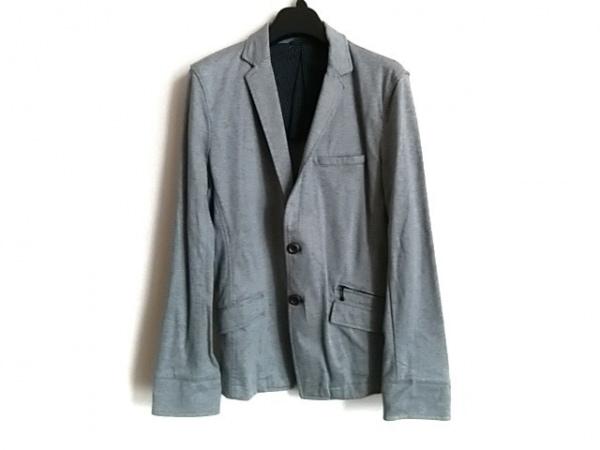 HIDEAWAYS NICOLE(ハイダウェイニコル) ジャケット サイズ46 XL メンズ ライトグレー