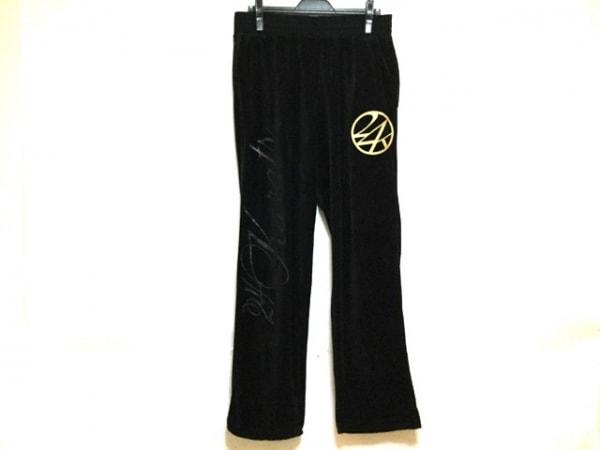 24カラッツステイゴールド パンツ サイズXL メンズ 黒×ベージュ×マルチ