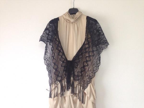 CEST LAVIE(セラヴィ) ドレス サイズ9 M レディース美品  ベージュ×黒