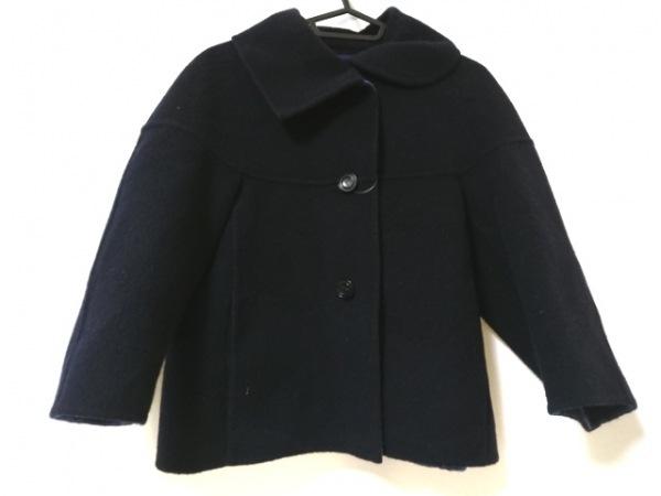 KEMIT(ケミット) コート サイズ38 M レディース美品  ダークネイビー ショート丈/冬物