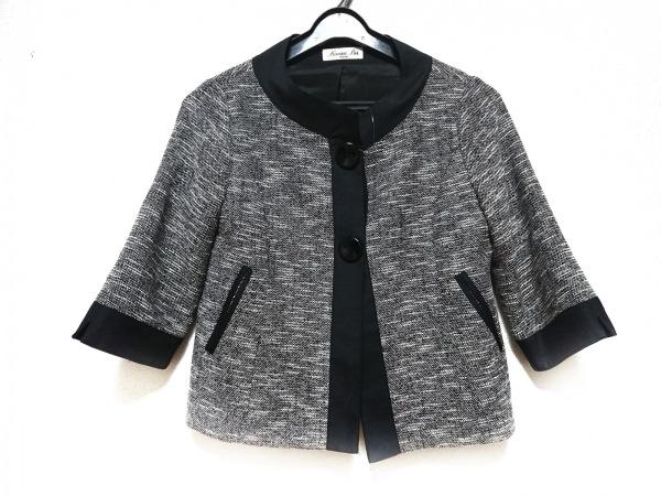 kansai(カンサイ) ジャケット サイズ9 M レディース 黒×アイボリー