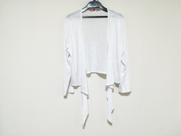 CHACOK(シャコック) カーディガン サイズ3 L レディース美品  白