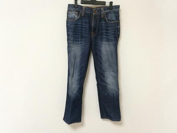 NudieJeans(ヌーディージーンズ) ジーンズ メンズ ブルー ダメージ加工