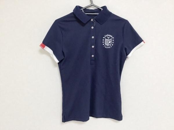 CALLAWAY(キャロウェイ) ノースリーブポロシャツ サイズM  M レディース ネイビー