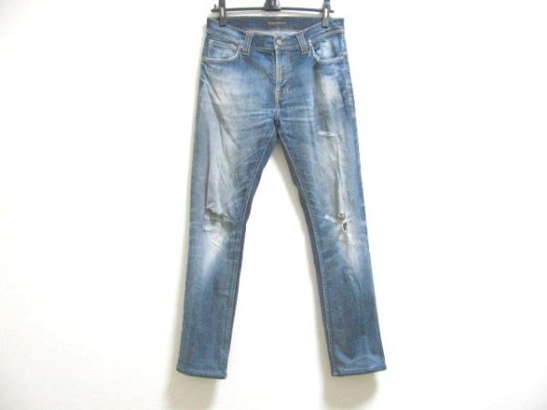 NudieJeans(ヌーディージーンズ) ジーンズ サイズ33 メンズ ブルー ダメージ加工