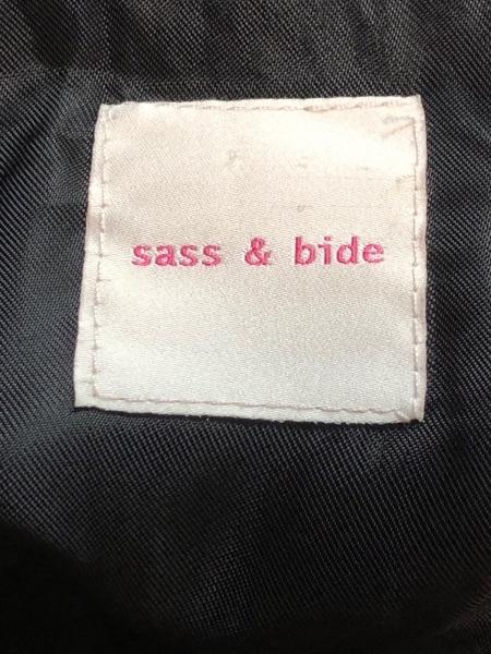sass&bide(サスアンドバイド) ワンピース レディース アイボリー×黒 ドット柄/リボン