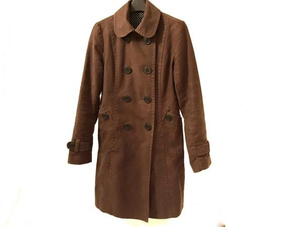 CLOCHE(クロチェ) コート サイズ2 M レディース ダークブラウン 冬物