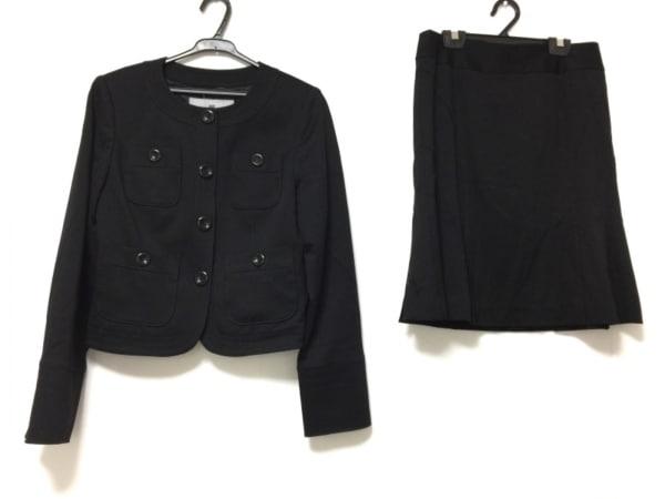 Viaggio Blu(ビアッジョブルー) スカートスーツ サイズ2 M レディース 黒