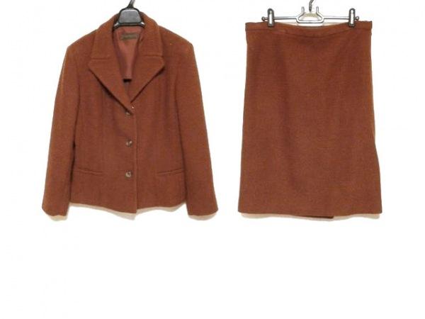 ナルシソロドリゲス スカートスーツ サイズ44(I) L レディース ボルドー