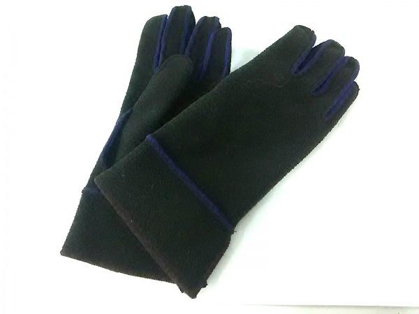 ALPO(アルポ) 手袋 レディース美品  ダークブラウン×パープル ポリエステル