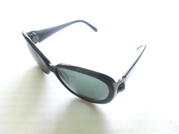 LOEWE(ロエベ) サングラス SLW662 黒 プラスチック×金属素材