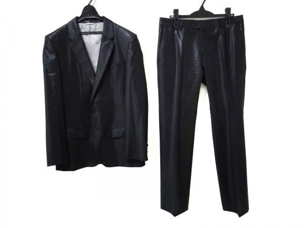 COMME CA COLLECTION(コムサコレクション) シングルスーツ サイズL メンズ美品  黒